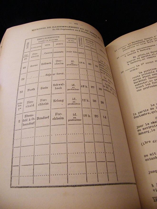 La Manoeuvre d'Iéna Stratégie tactique H.Bonnal 1900 Cartes La_man13