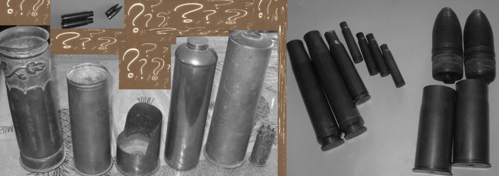 Douille d'obus sculptée par un poilu lors de la 1ère guerre mondiale Obus__10