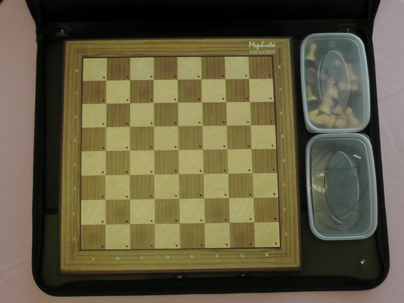 Storage Case - ideal for Mephisto Exclusive Chess Compute Storag14