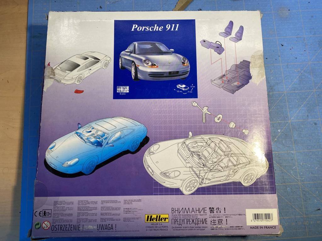 PORSCHE 911 1/24ème Réf 60767 6d49cf10