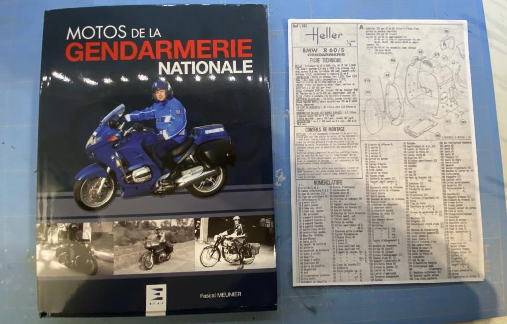 [HELLER] BMW R 60/5 gendarmerie 1/8ème Réf 52992 79ee2210