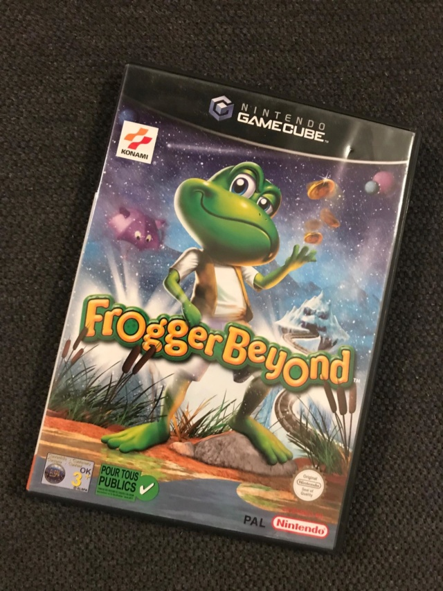 [estim] jeux game cube Frogger Beyond, mario party7, worlds evolution,... Img_7113