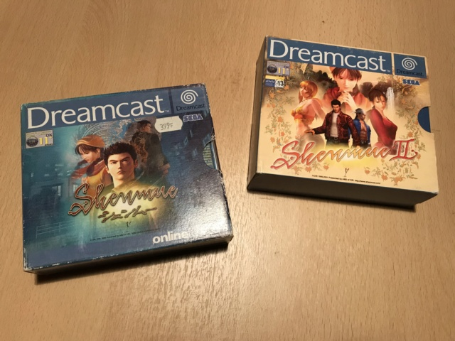 [vente] Dreamcast + Shenmue 1 et 2 +master system + jeux master system Img_7212