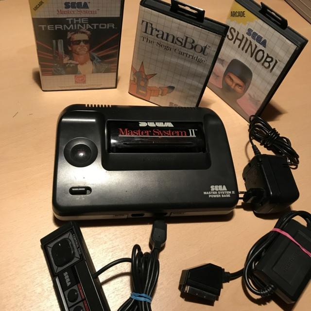 [vente] Dreamcast + Shenmue 1 et 2 +master system + jeux master system Img_7213