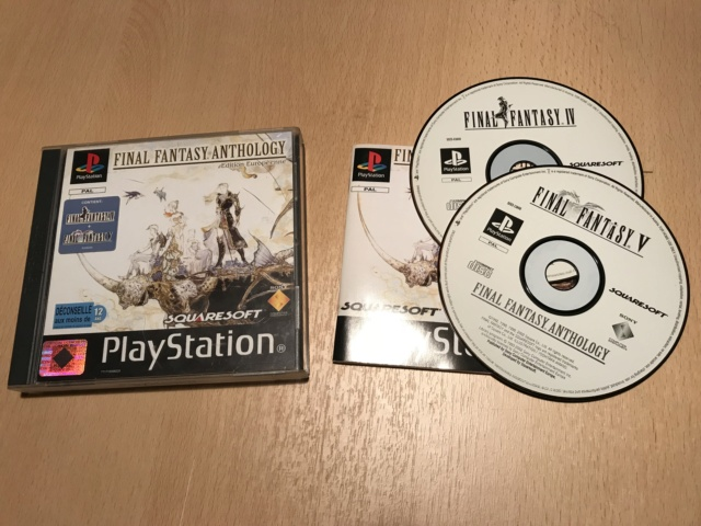 PS2 (RPG + divers) + PS1 (Herc's Adventure, Final Fantasy Anthology) + PSP (Castlevania) Img_7223
