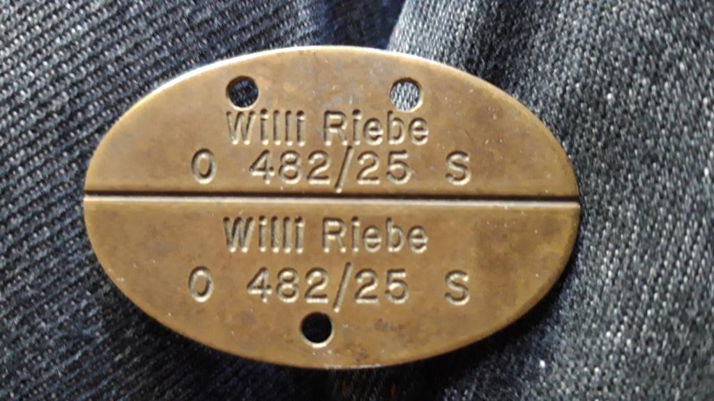 Reichsmarine. Plaque allemande WWII 20191011