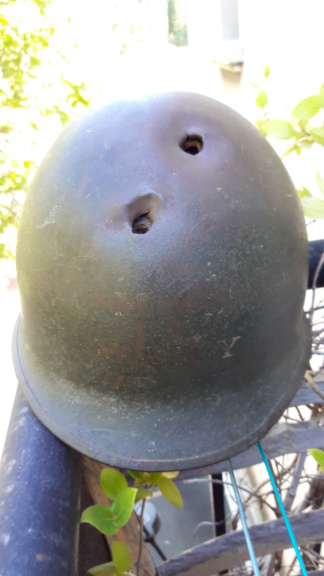 Datation d'un casque U.S. 20200791