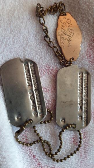 Plaques U.S.  et Bracelet WWII 20201122