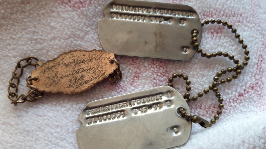 Plaques U.S.  et Bracelet WWII 20201123