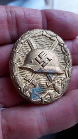 Insigne des blessés Allemand WWII 20201223