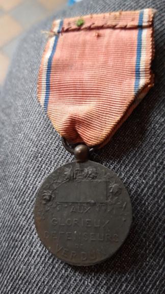 Médaille Verdun 20201289
