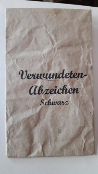 Sachet Verwundeten Abzeichen 20210740