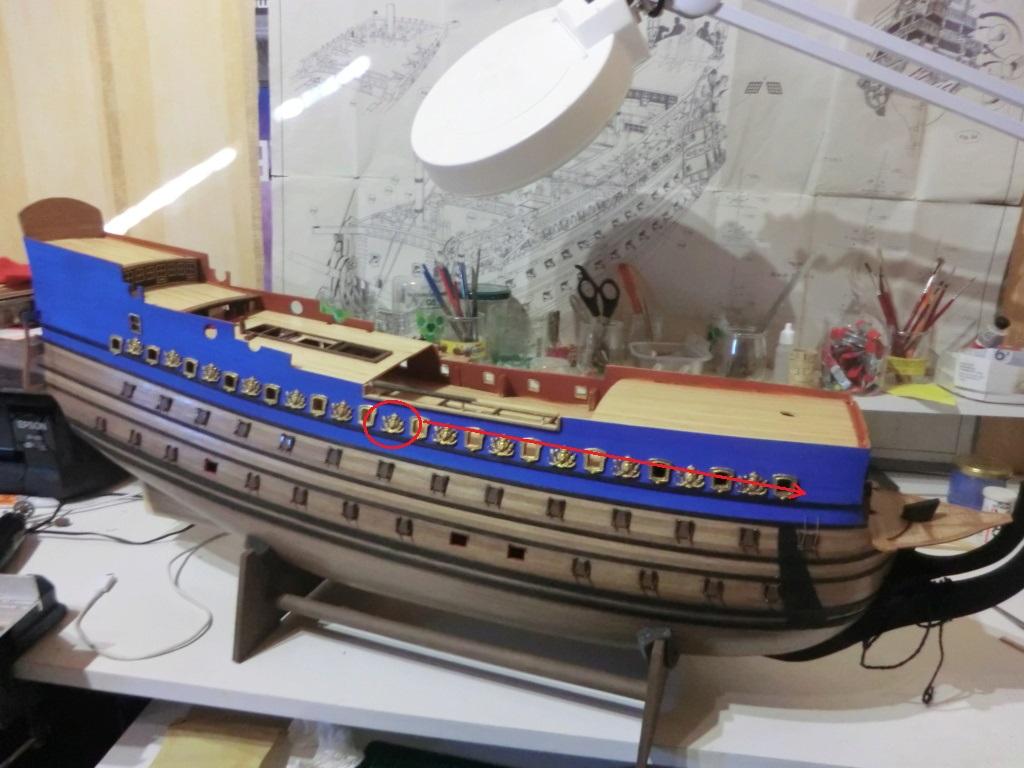 Mon deuxième bateau de Mantua/Sergal,le Soleil royal au 1/77éme de 1693  - Page 29 Cimg0210