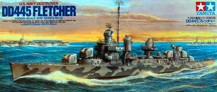 DD 445 Fletcher - Tamiya - 1/350 Dd-44510