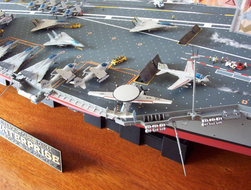 "Porte-Avions US ""Enterprise"" - Tamiya -1/350 Enterp12"