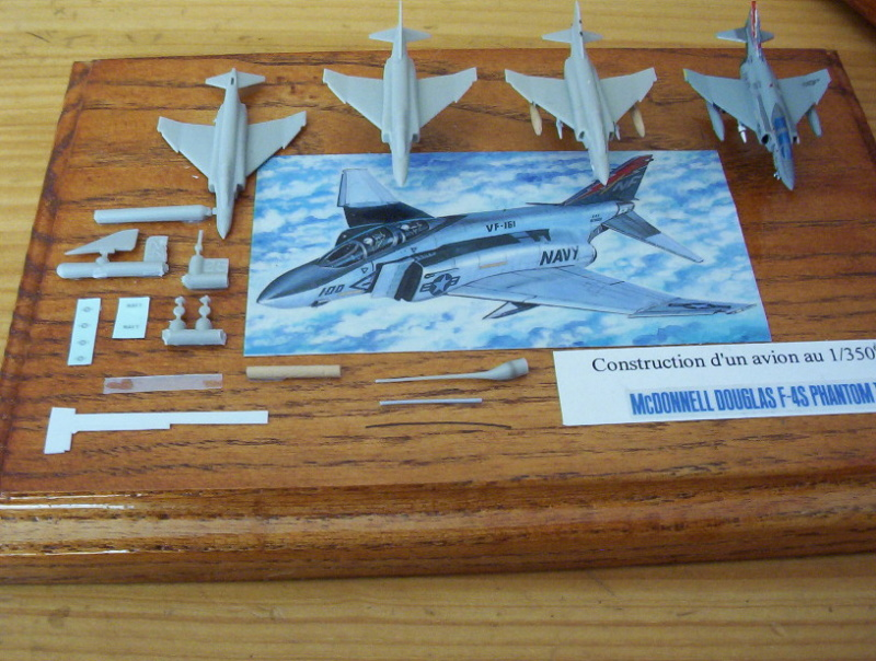 "Porte-Avions US ""Enterprise"" - Tamiya -1/350 Plaque10"