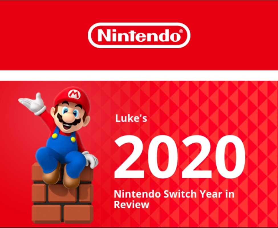 Your 2020 Nintendo Switch Year In Review 13280310
