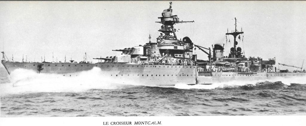 Le croiseur MONTCALM 0001210