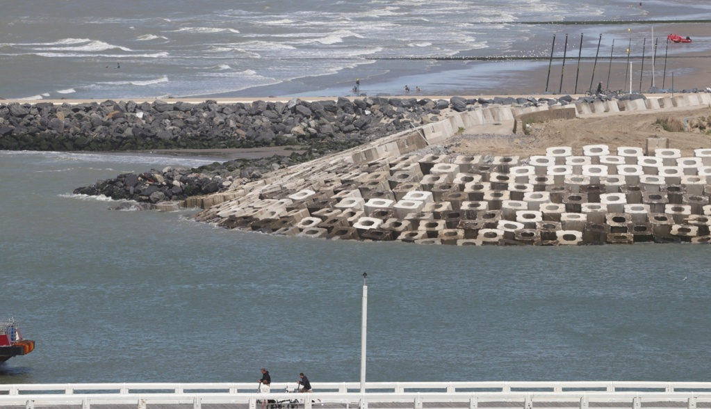 Travaux au port d'Oostende Aa2010