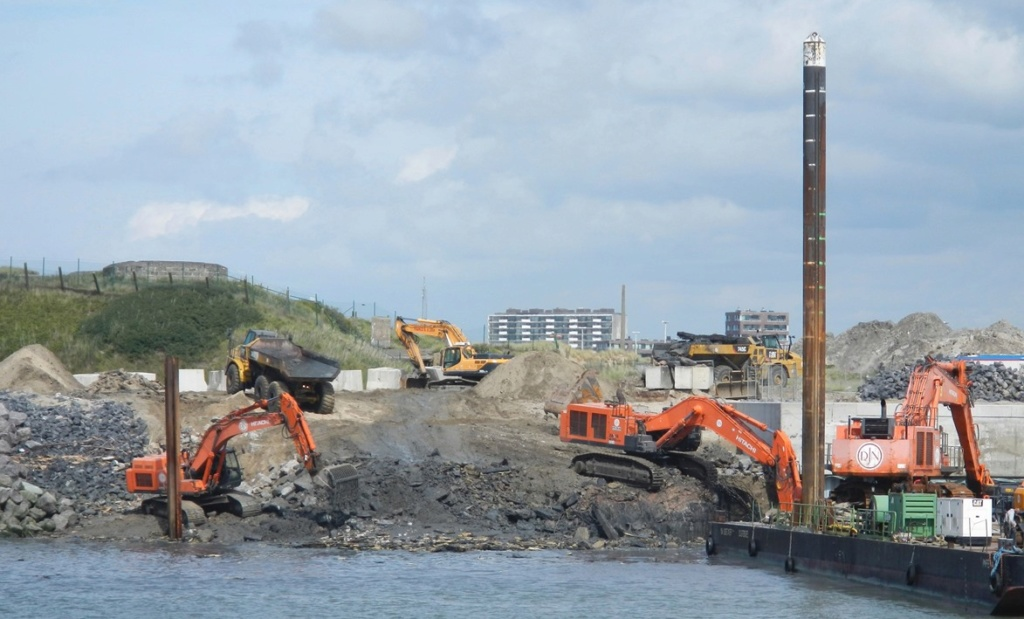 Travaux au port d'Oostende Aaa710