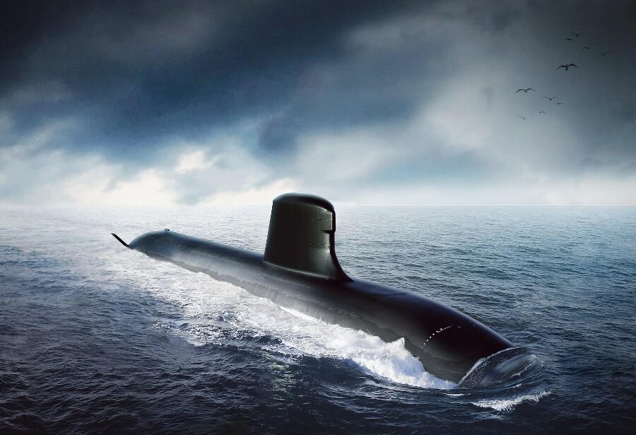 SNA : Sous-marin Nucléaire d'Attaque Barrac11