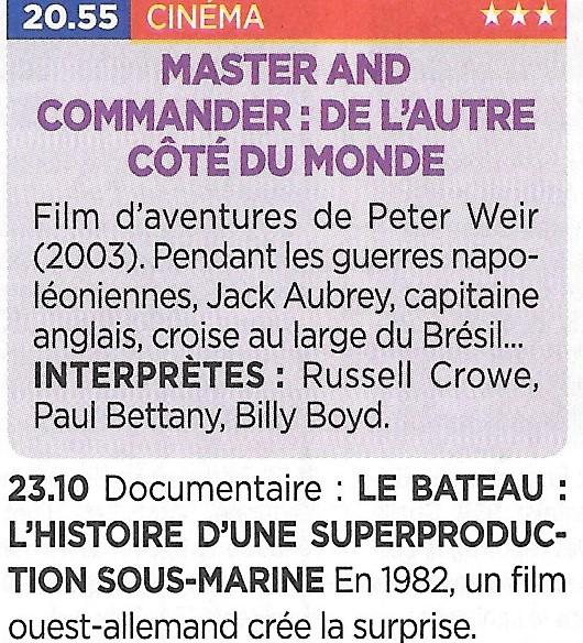La marine à la télévision - De Marine op tv - Page 30 Bateau12