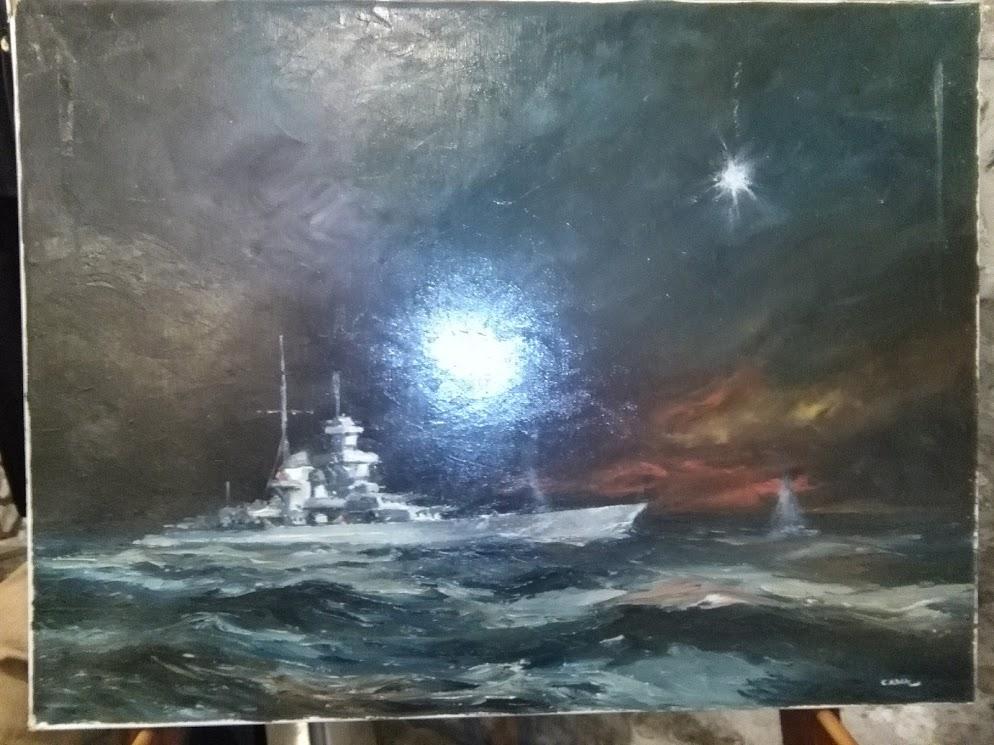 Expo peintures de la mer - Page 3 Bismar11