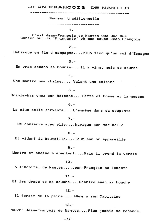 CHANTS DE MARINS Cm110