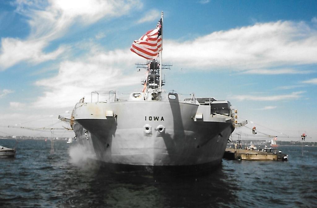 USS Iowa  Iowa_111