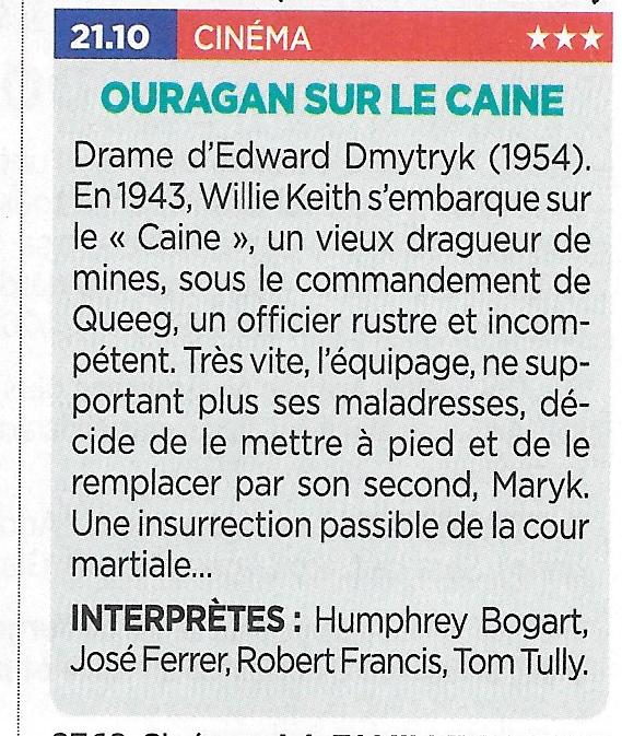 La marine à la télévision - De Marine op tv - Page 30 Ouraga10