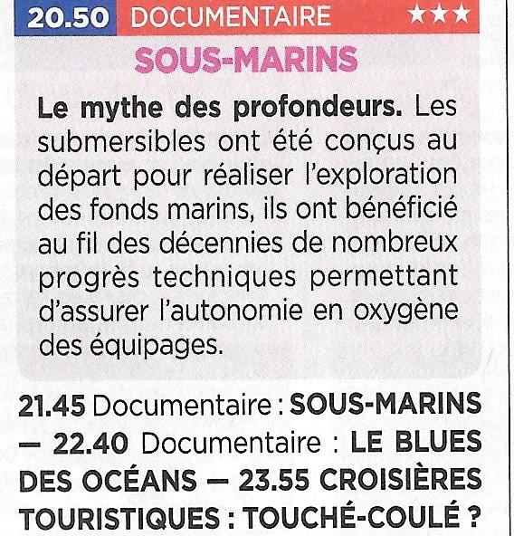 La marine à la télévision - De Marine op tv - Page 31 Sous-m10