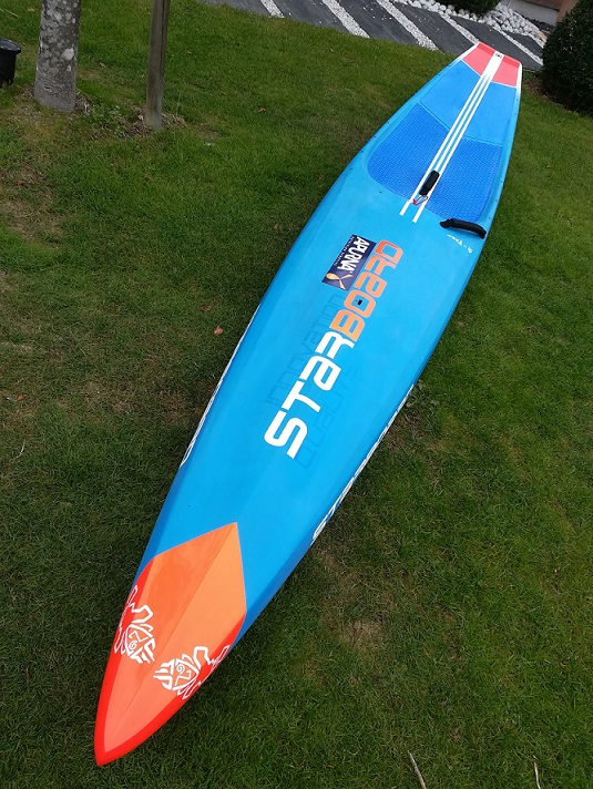 SUP Race Starboard All Star 2018 Carbone 14 x 23.5 Allsta15
