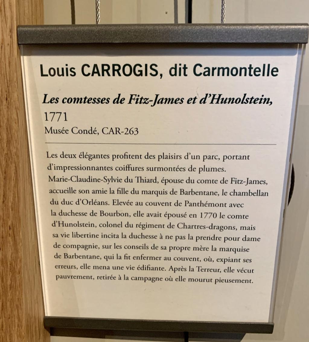 Exposition CARMONTELLE ou la douceur de vivre à Chantilly ! 064e9510