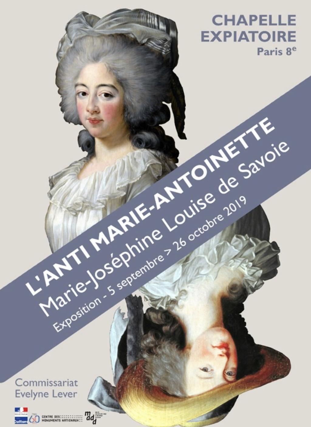 Exposition « L'anti Marie-Antoinette : Marie-Joséphine Louise de Savoie » à la chapelle expiatoire 08a19210