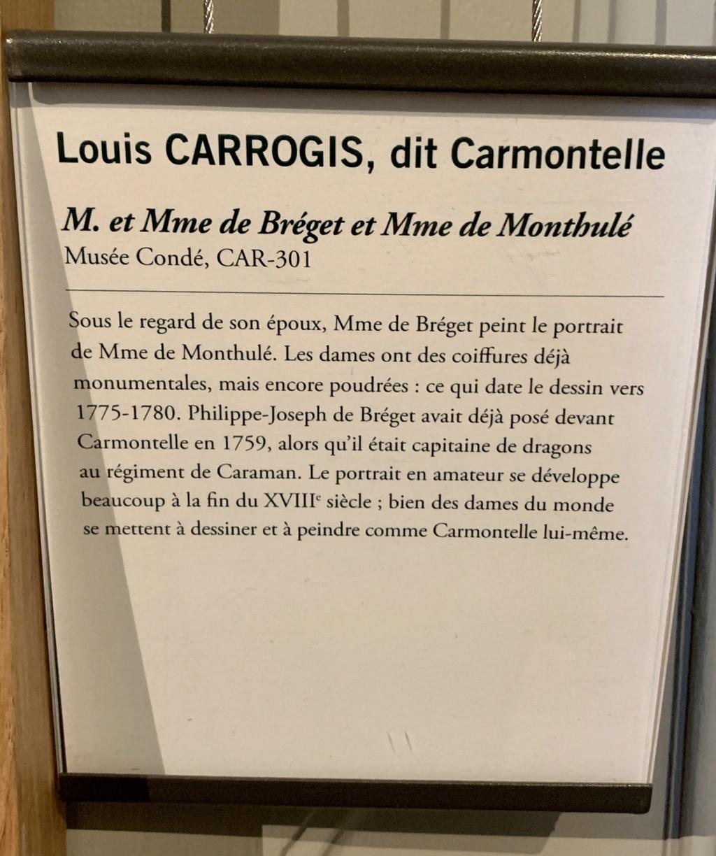 Exposition CARMONTELLE ou la douceur de vivre à Chantilly ! 0c41b210