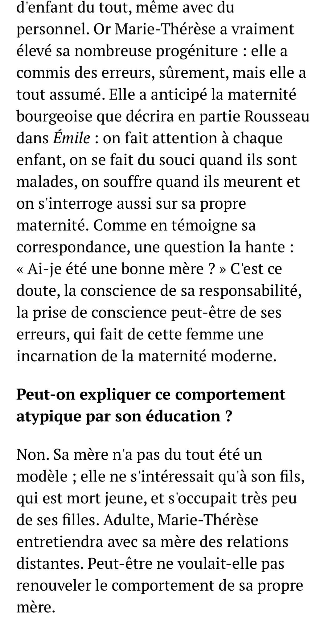 Marie-Thérèse d'Autriche : Le pouvoir au féminin & Les conflits d'une mère. De Elisabeth Badinter - Page 2 0c64c510