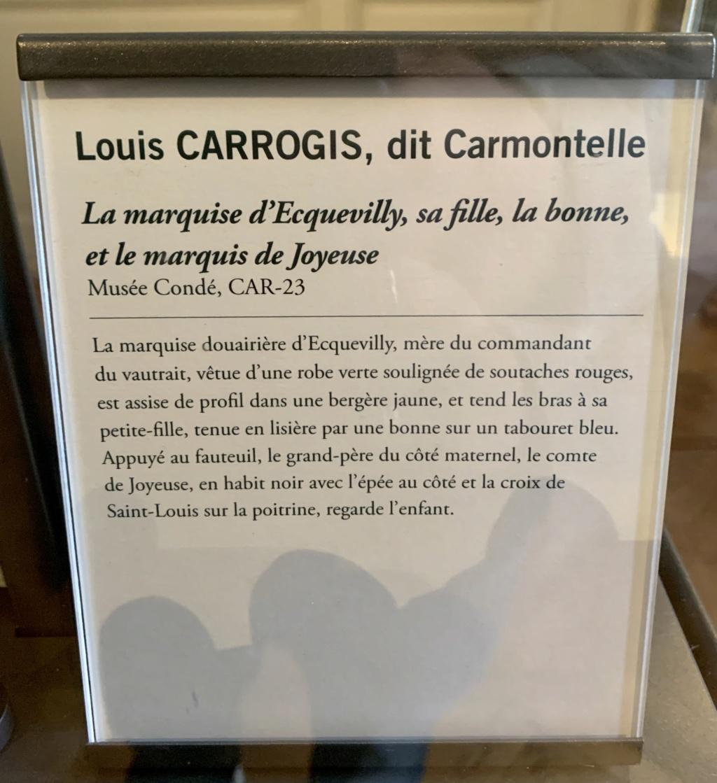 Exposition CARMONTELLE ou la douceur de vivre à Chantilly ! 149d8010