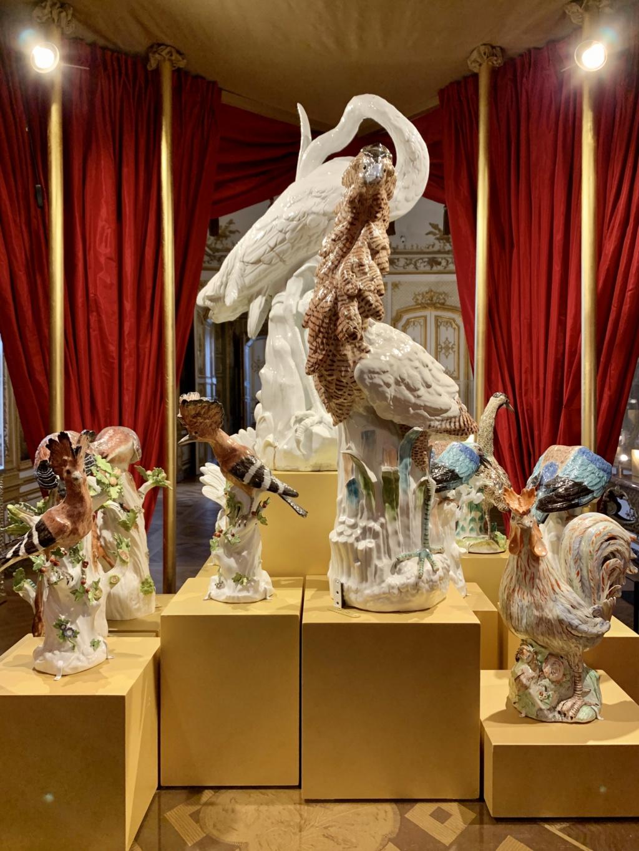 """Chantilly : Exposition """"La fabrique de l'extravagance"""", porcelaines de Meissen et de Chantilly  14c88110"""