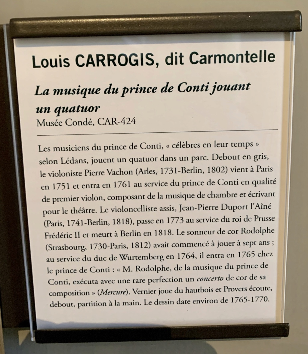 Exposition CARMONTELLE ou la douceur de vivre à Chantilly ! 1918ff10