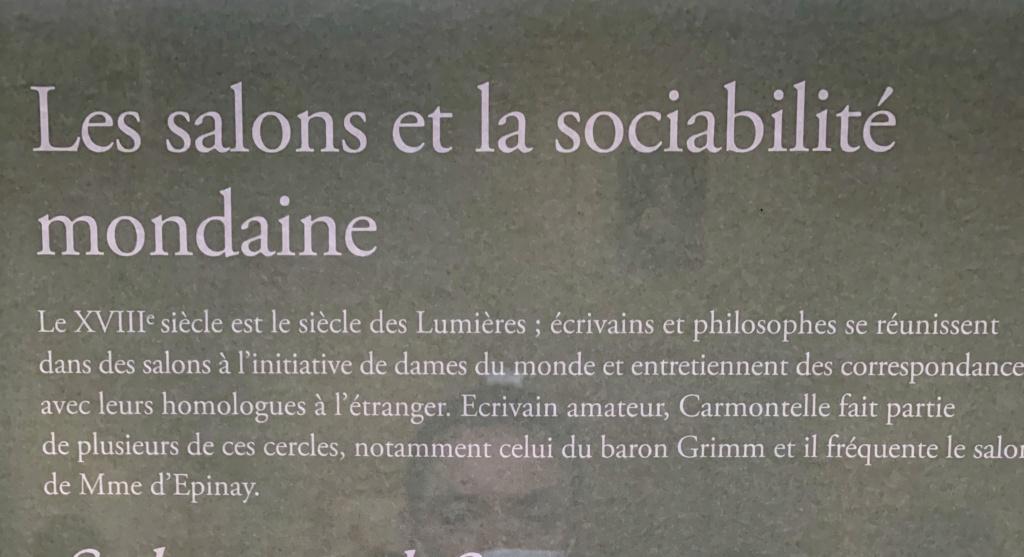 Exposition CARMONTELLE ou la douceur de vivre à Chantilly ! 32e0bf10