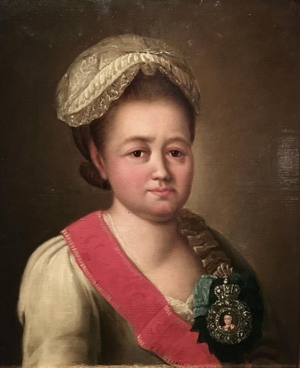 La princesse Daschkoff (Dachkov), dame d'honneur de Catherine II 355dcc10