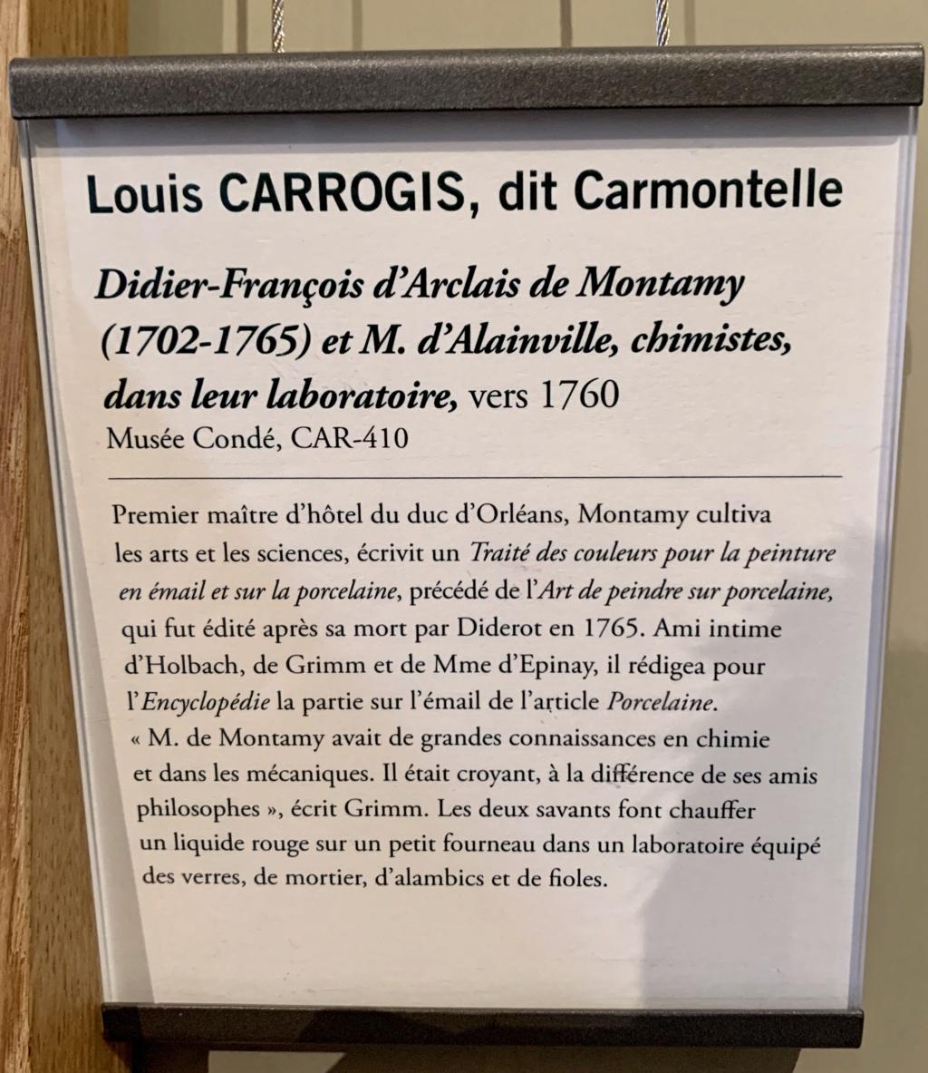 Exposition CARMONTELLE ou la douceur de vivre à Chantilly ! 42a84210