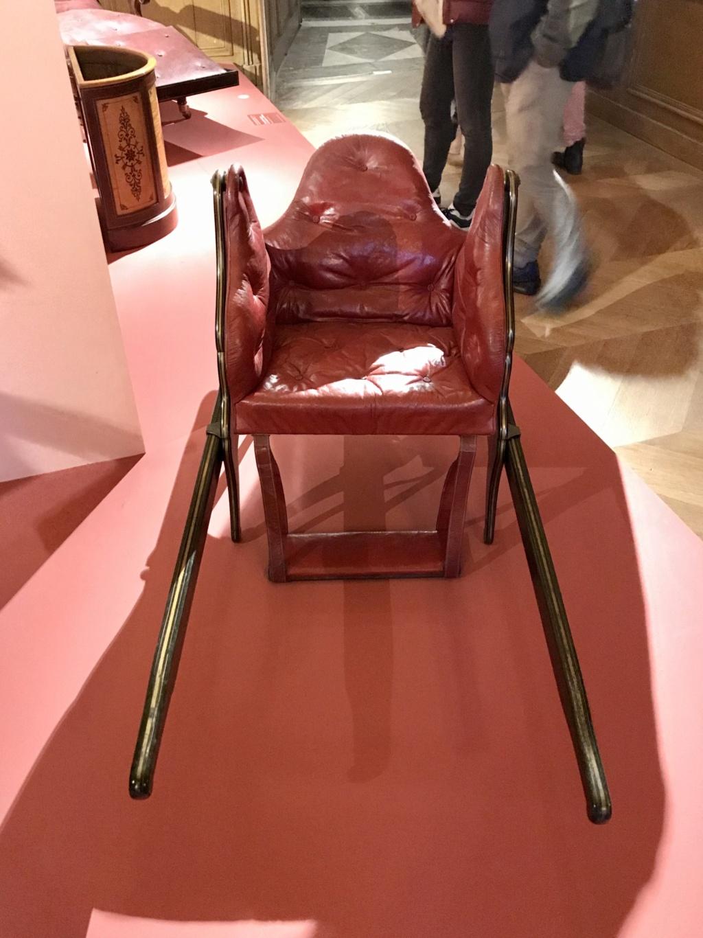 """La  """"chaise volante"""" de Versailles 4ef7a110"""