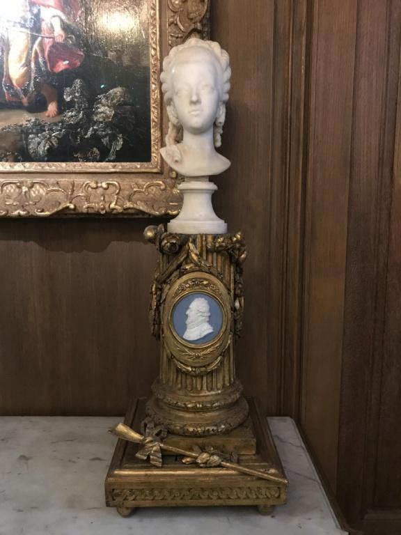 Buste de Marie-Antoinette sur piédestal dynastique, musée Cognacq Jay 51d92510