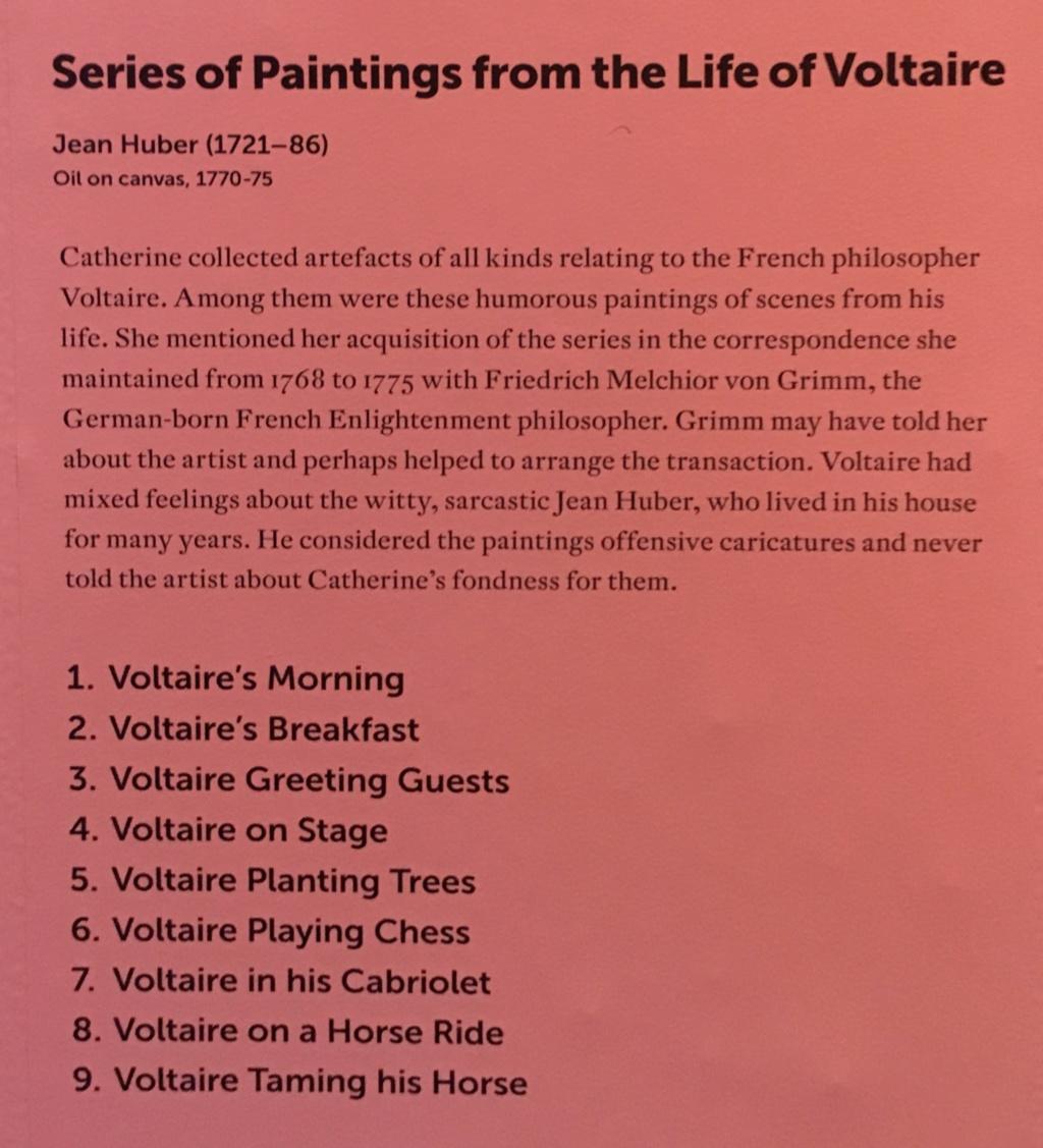 Catherine II  achète la bibliothèque de Voltaire 535ead10