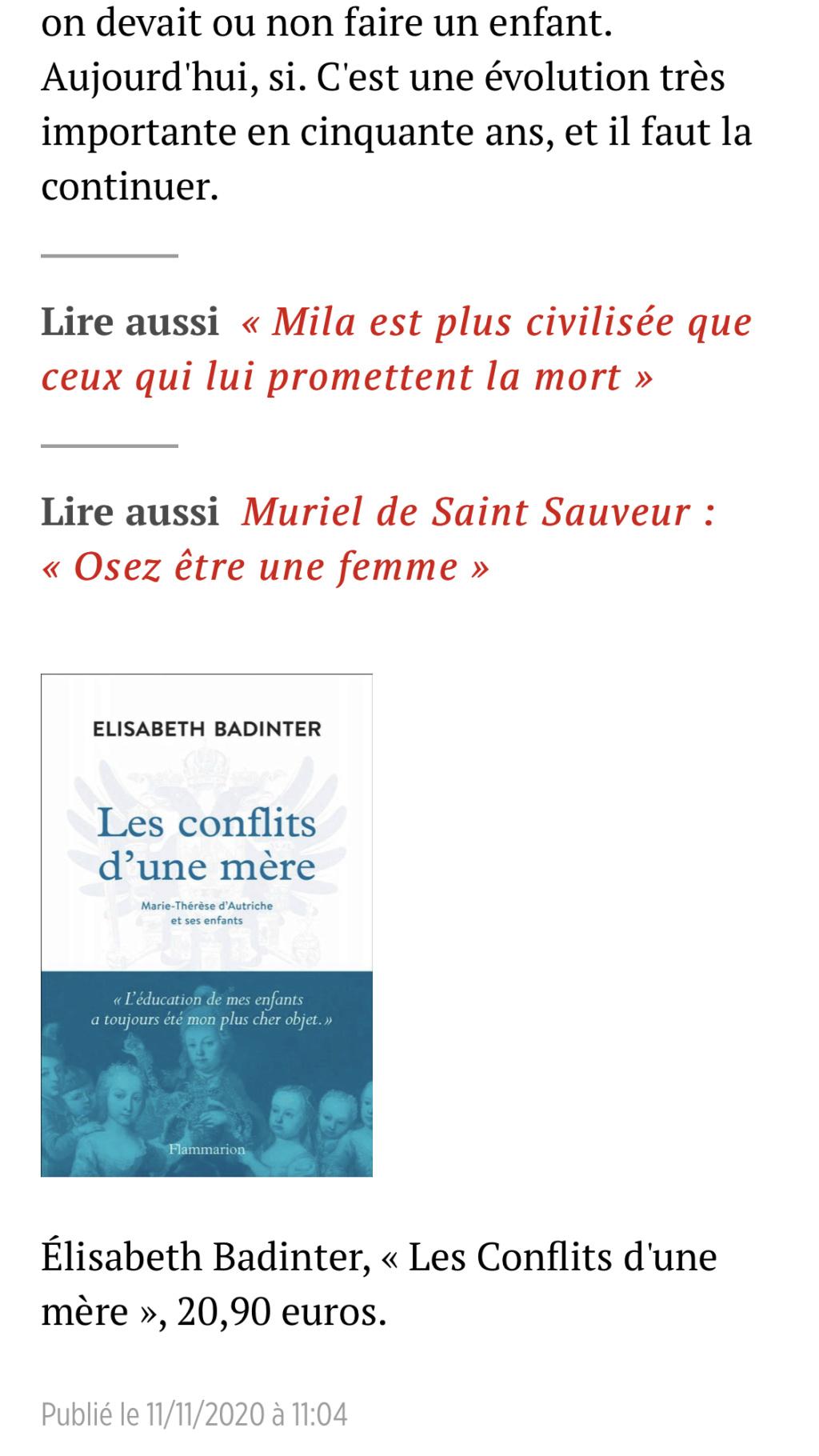 Marie-Thérèse d'Autriche : Le pouvoir au féminin & Les conflits d'une mère. De Elisabeth Badinter - Page 2 566d0510