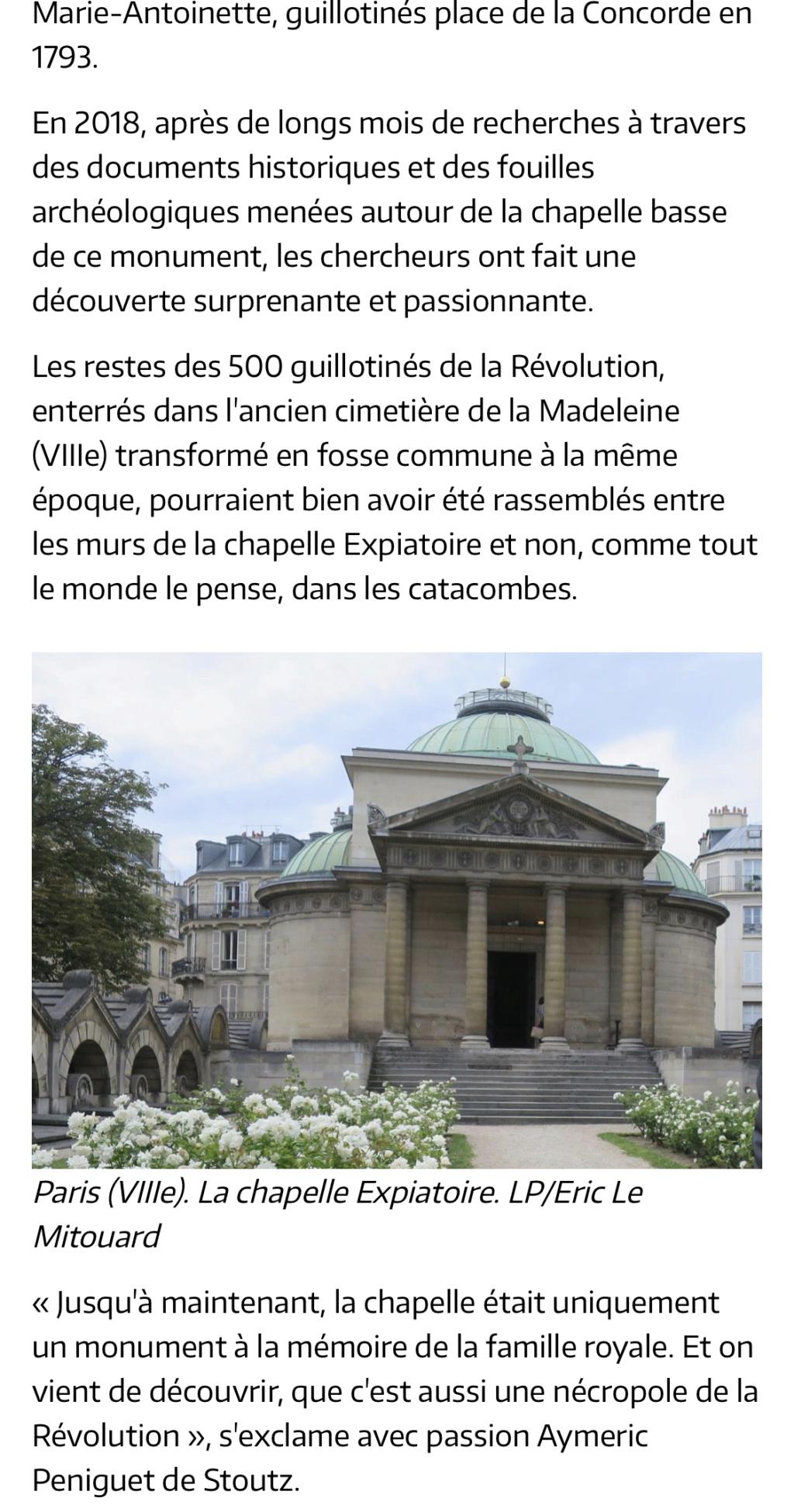 La chapelle expiatoire du square Louis XVI, à Paris - Page 3 6fc3a610