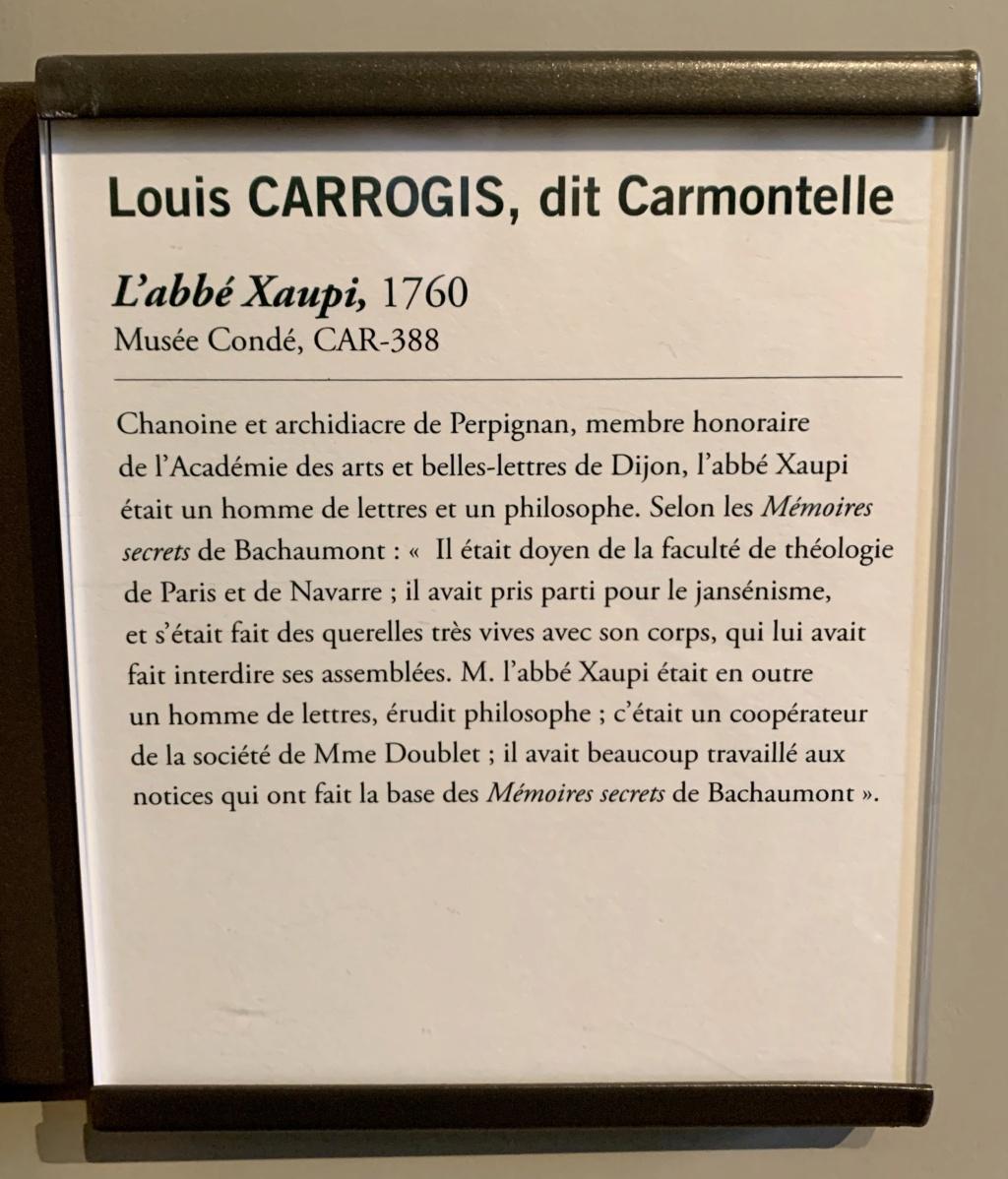 Exposition CARMONTELLE ou la douceur de vivre à Chantilly ! 72c56010