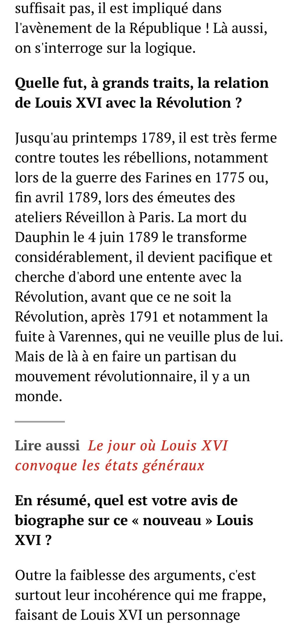 Louis XVI l'intrigant. D'Aurore Chéry 75c42410