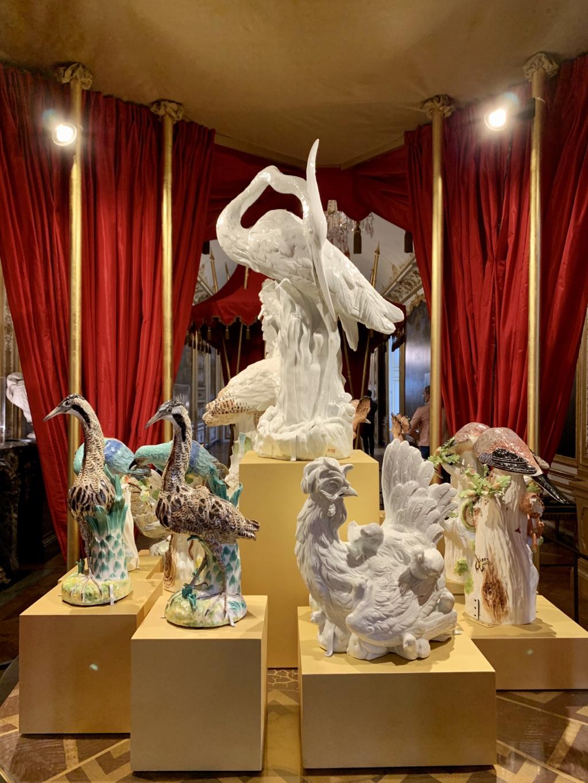 """Chantilly : Exposition """"La fabrique de l'extravagance"""", porcelaines de Meissen et de Chantilly  7844fc10"""